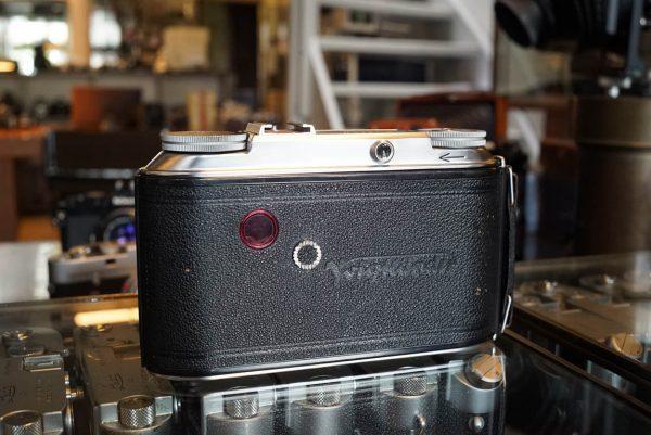 Voigtlander Bessa II + Heliar 105mm lens