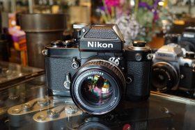 Nikon F2A + Nikkor 1:1.4 / 50mm AI lens