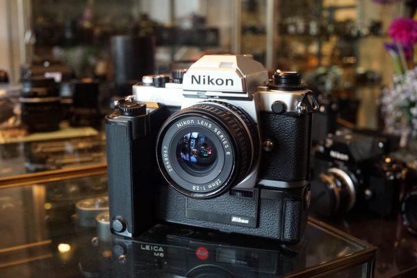 Nikon FA kit + Nikon 2.8 / 28mm lens