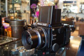 Mamiya RZ67 + Mamiya Sekor 3.5 / 90mm lens