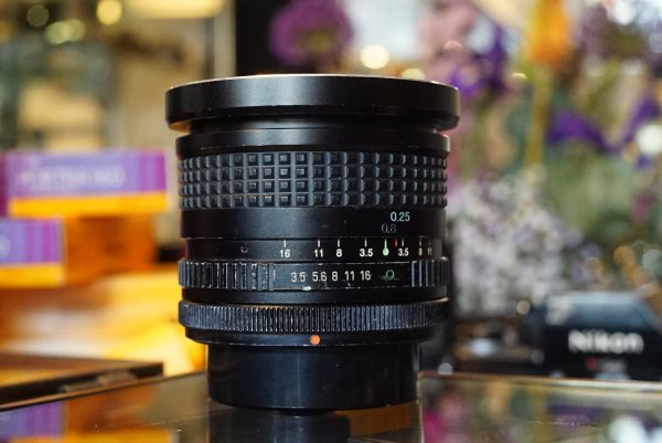 Canon FD fit 17mm 1:3.5 made by Tokina