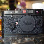 "Leica M6 body, ""Big logo M6"""