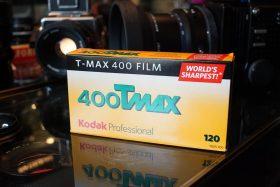 Kodak T-MAX 400 PRO TMY 120 roll film, 5-pack