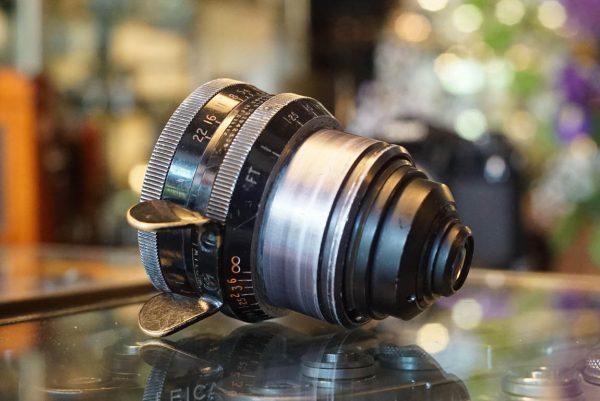 Cooke Kinetal 25mm T2 f/1.8, Arri std, for 16mm