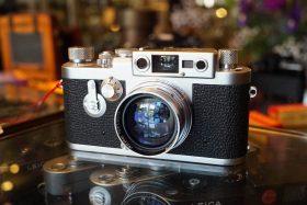 Leica IIIG kit + Summitar 1:2 / 50mm lens, in box