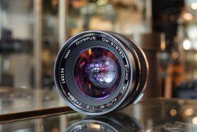Olympus OM Zuiko 35mm f/2 lens MC