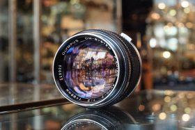 Olympus OM-System 85mm 1:2 F-Zuiko lens