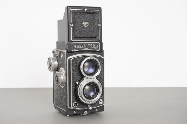 Rolleicord III / K3B camera with 3.5/75 Xenar lens