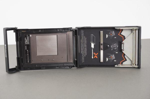 Hasselblad 100 Polaroid film back, RR