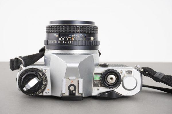Pentax MG with SMC Pentax-M 50mm 1:2 lens