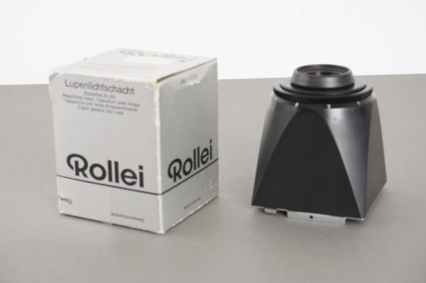 Rollei Rolleiflex SL66 fit magnifying hood, boxed