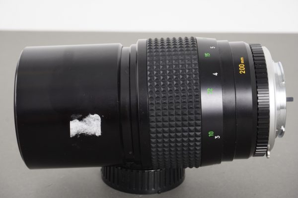 Minolta MC Tele Rokkor-QF 200mm 1:3.5 lens