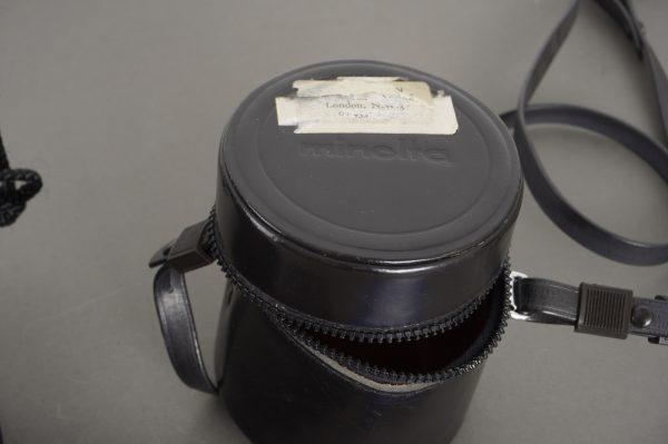 Rollei screen, Hasselblad cap, Minolta case and Canon pouch :-)