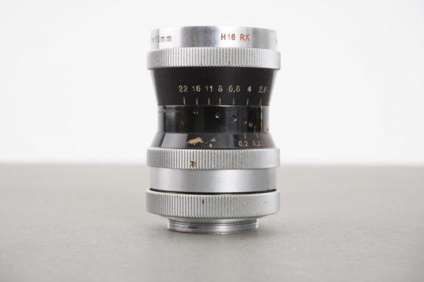 Kern Paillard Switar 10mm 1:1.6 for H16 RX Bolex, C-mount