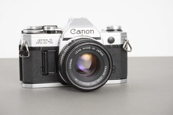 Canon AT-1 with 50mm 1:1.8 FDn lens, issues