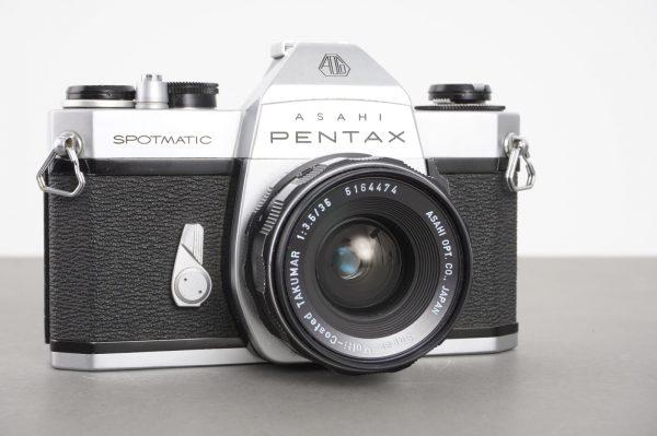 S-M-C Takumar 35mm 1:3.5 lens on Asahi Pentax Spotmatic SP II camera
