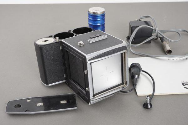 Hasselblad 500 EL camera + extras