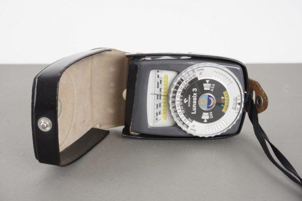 Gossen Lunasix 3 lightmeter, in case