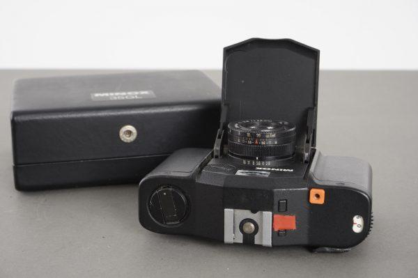 Minox 35 GL camera in case – for display