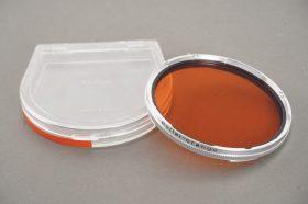 Rollei Rolleiflex orange -1.5-3 filter, Bay VI mount