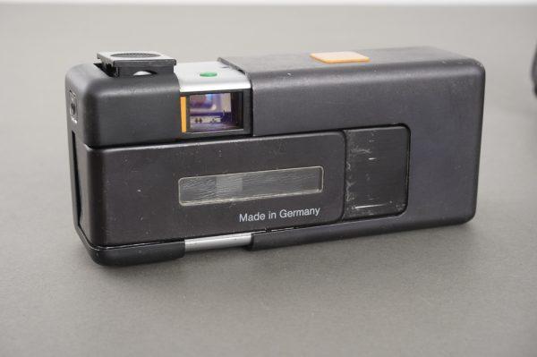 Rollei A110 miniature camera, in case