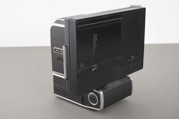 Hasselblad 500 EL camera + Polaroid 100 film back