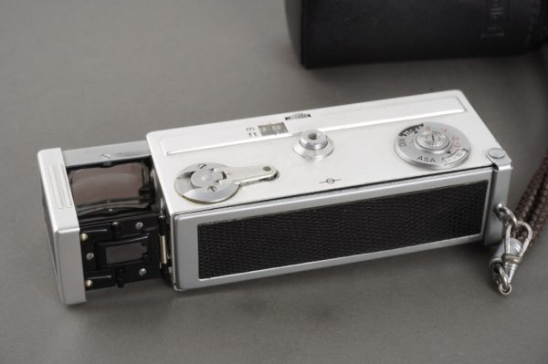 Rollei 16S subminiature camera, cased
