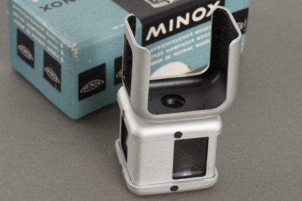 Minox Reflex Viewfinder model B – boxed