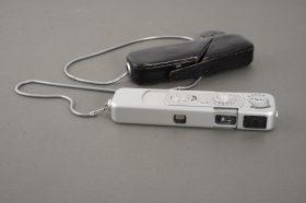 Minox B subminiature camera, cased