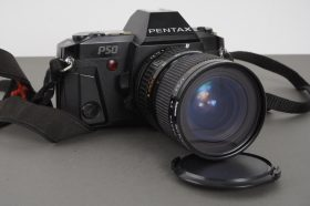 Pentax P50 camera with 2870mm f/3.5-4.5 Kiron lens