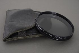 Hasselblad 63 polarizing filter, in pouch
