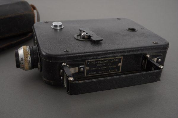 Kodak Cine Eight Model 20 movie camera with 13mm f/1.9 Anastigmat lens