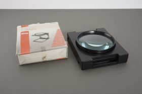 nice, 110mm diameter foldable magnifier – boxed