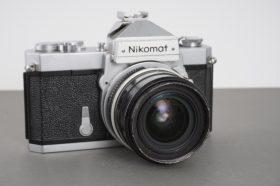 Nikon Nikomat FTn camera body with wide angle Nikkor lens, f/2.8