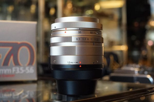 Carl Zeiss Vario-Sonnar 3.5-5.6 / 35-70 T* lens for Contax G2, Boxed