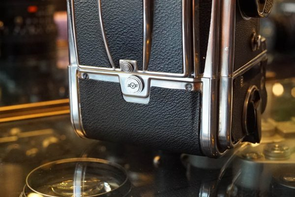 Hasselblad 500C + Planar 80mm Chrome kit