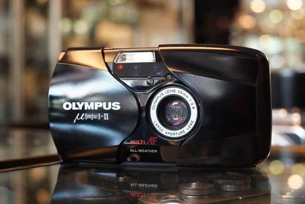 Olympus MJU-II compact camera
