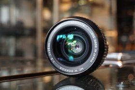 Minolta MC W.Rokkor 1:2 / 28mm lens