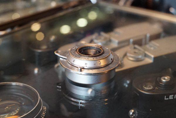 Leica Leitz Hektor 6.3 / 2.8cm lens LTM, ugly