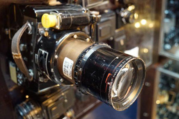 Vinten Aerial camera + Taylor Hobson Cooke lens