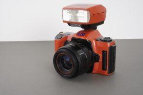 Olympus OM101 Power Focus camera + 35-70mm lens