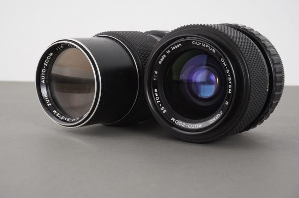 2x Olympus OM Zoom lens: 35-70/4 and 75-150/4