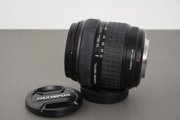 Olympus Digital 18-180mm 1:3.5-6.3 lens, 4/3 mount