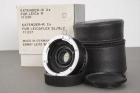 Leica Leitz 11236 Extender-R 2x for Leica R – boxed
