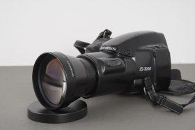 Olympus IS-1000 bridge camera + 1.5x A200 HQ converter