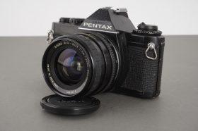 Pentax MV + 28mm 1:2.8 Sigma lens