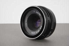 aus Jena DDR T (Tessar) 2.8/50 lens, M42