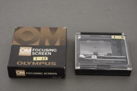 Olympus 1-3 focsuing screen, boxed