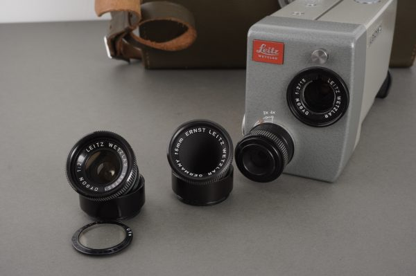 Leicina 8S 8mm camera + extra Dygoin lens, cased
