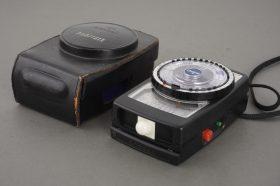 Gossen Profisix lightmeter, cased